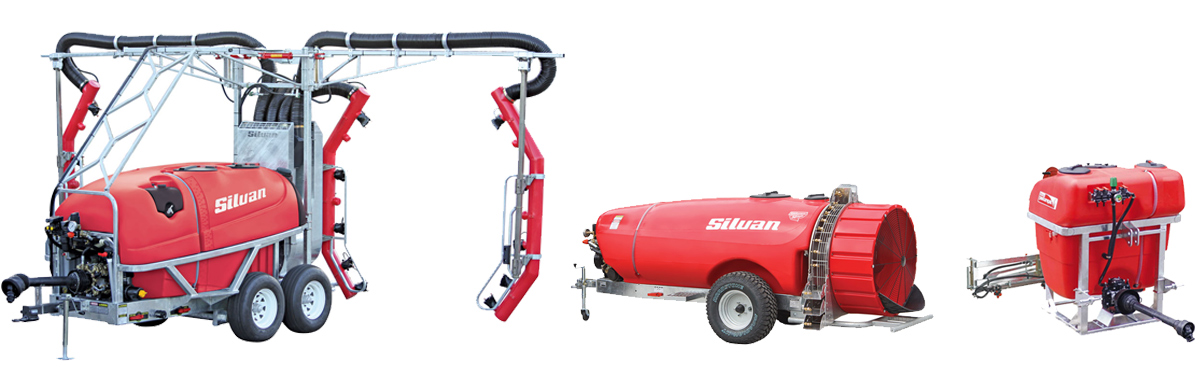silvan sprayer range