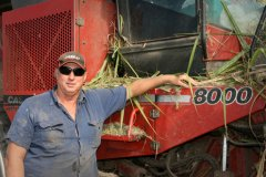 MMM Customer, Graham Pratt, very happy with his Case IH Austoft 8000 Cane Harvester