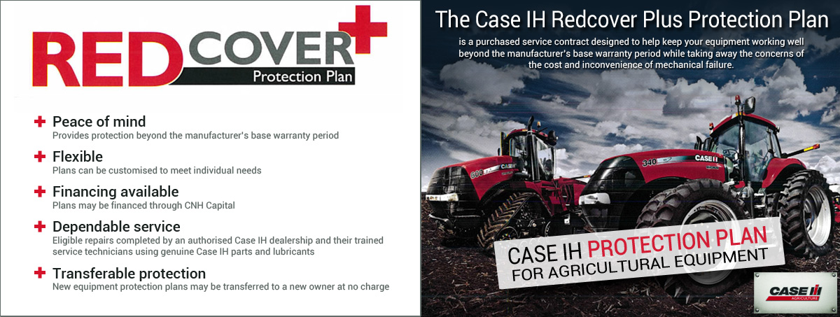 Case IH Redcover Plus for Agricultural Equipment