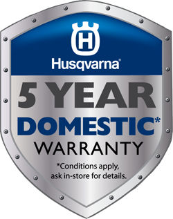 husqvarna 5 year domestic warranty