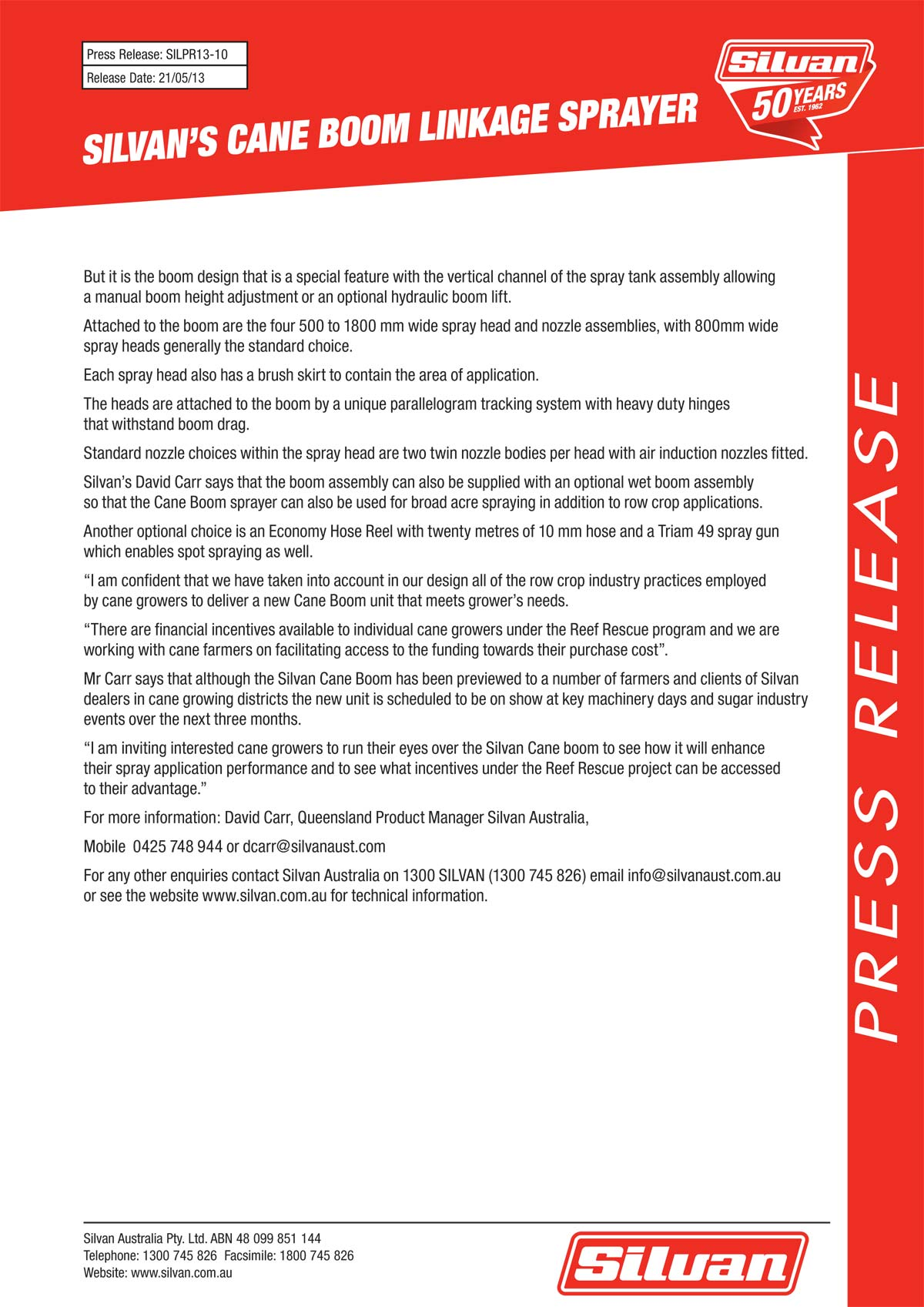 silvan cane boom press release page2