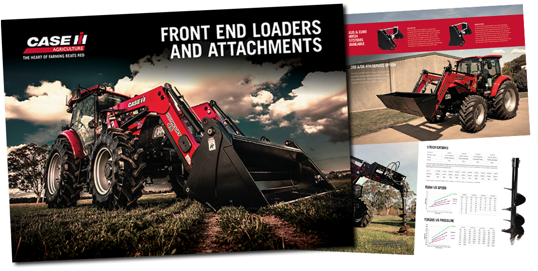 Case IH Frontend loaders & attachments brochure