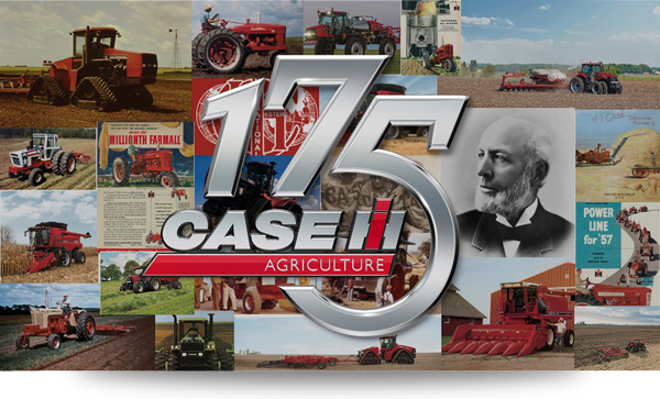 case ih 175 year collage shadow